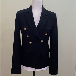 Super stylish double breasted blazer gold buttons